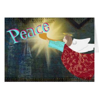 Angel of Peace Christmas card