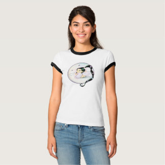 Angel of Protection with black tail of horse T-Shirt