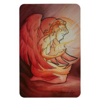 Angel of Spirit Rectangular Photo Magnet