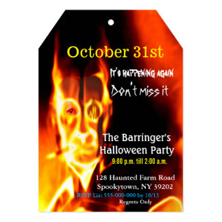 Angel of the bottomless pit Halloween 2 VIP Invite