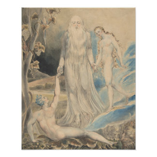 Angel of the Divine Presence Bringing Eve to Adam Poster