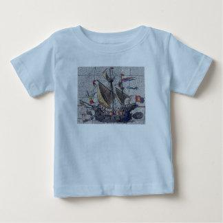 Angel of the High Seas Sailing Ship Baby T-Shirt