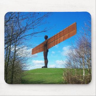 Angel of the North Mouse Pad