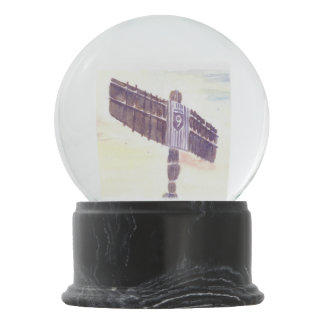 Angel of the North Snow Globe