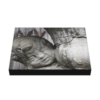 Angel of the Past Canvas Print