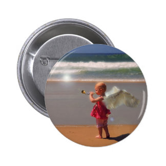 Angel Of The Shores series #10 button