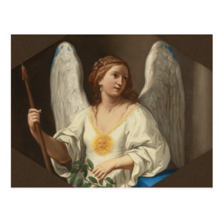 Angel of virtue CC0881 Elisabetta Sirani Postcard