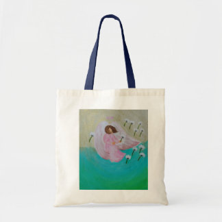 Angel of Wishes Tote Bag