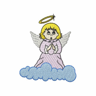 Angel On Cloud Embroidered Jacket