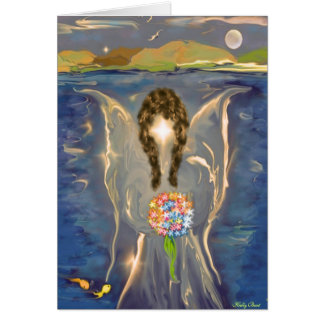 Angel on The Water Card
