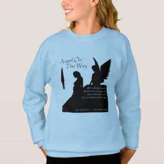 Angel On The Way Girls' Hanes Comfort Sweatshirt