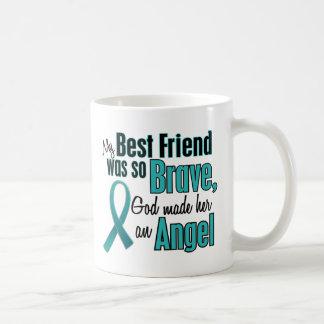 Angel Ovarian / Cervical Cancer Basic White Mug