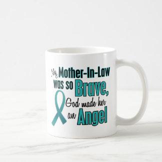Angel Ovarian Cervical Cancer Coffee Mug