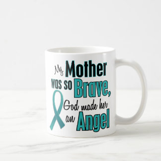 Angel Ovarian / Cervical Cancer Basic White Mug