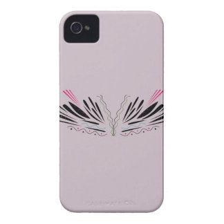 Angel painted wings Case-Mate iPhone 4 cases