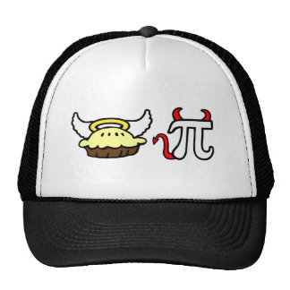 Angel Pie and Devil Pi Trucker Hats