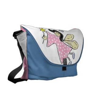 Angel (pink) Diaper Bag Courier Bags
