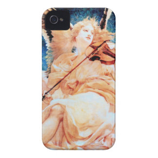 Angel Playing Violin painting iPhone 4 Case-Mate Cases
