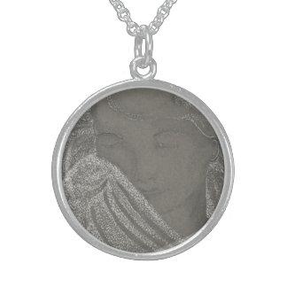 Angel Portrait Necklace