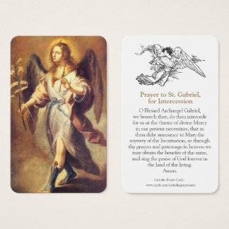 Angel Prayer Cards | St. Gabriel 1