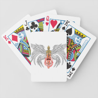 angel_queen_2 bicycle playing cards