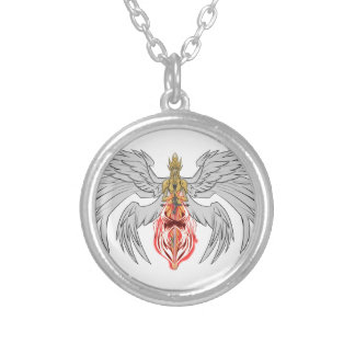 angel_queen_2 silver plated necklace