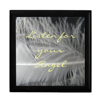 Angel Quote Box Large Square Gift Box