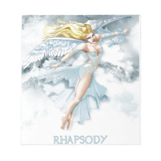 Angel Rhapsody - Note Pad Scratch Pad