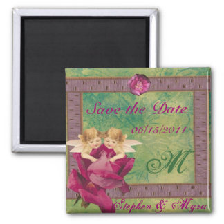 Angel Rose Save the Date Magnet