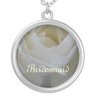 Angel Rose Wedding Custom Necklace