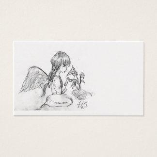 angel  rosie business card