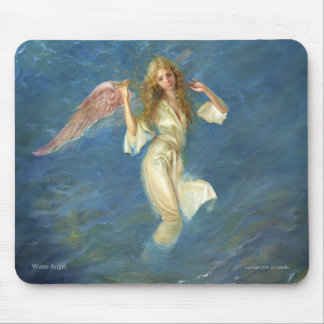 Angel s Path Mouse pad with angel image