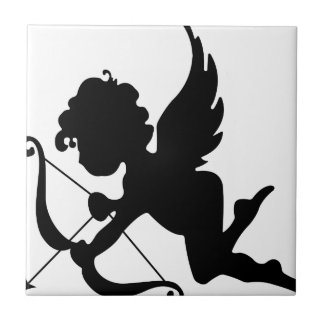 Angel Small Square Tile