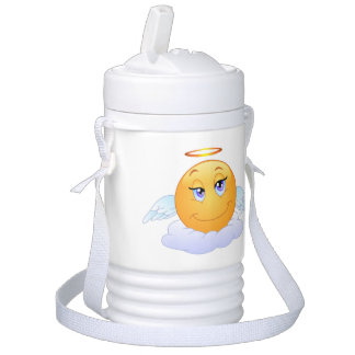 Angel smiley drinks cooler