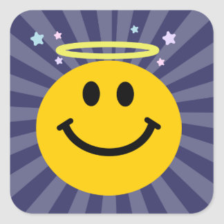 Angel Smiley face Stickers