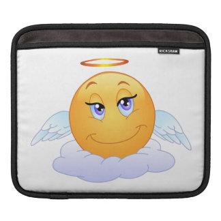 Angel smiley iPad sleeve