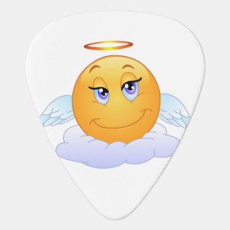 Angel smiley plectrum