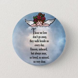 "Angel ""So Loved"" 6 Cm Round Badge"