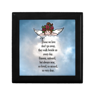 "Angel ""So Loved"" Small Square Gift Box"
