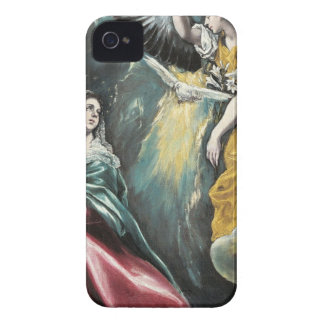 Angel Speaking to Mary iPhone 4 Cover