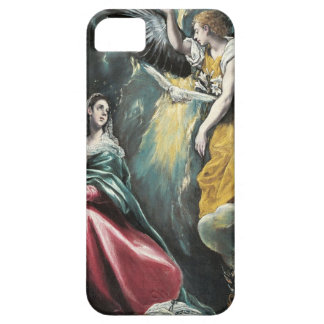Angel Speaking to Mary iPhone 5 Covers