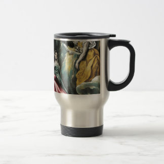 Angel Speaking to Mary Travel Mug