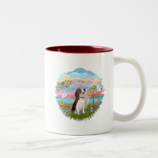 Angel Star - Beagle Two-Tone Coffee Mug