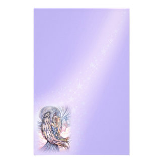 Angel Stationary by Molly Harrison Personalized Stationery