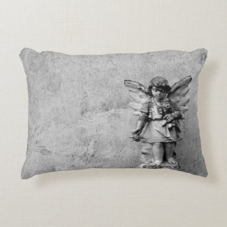 Angel Statuary Accent Pillow