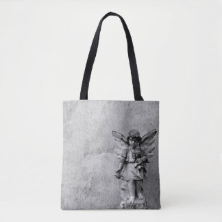 Angel Statuary Cross Body Tote
