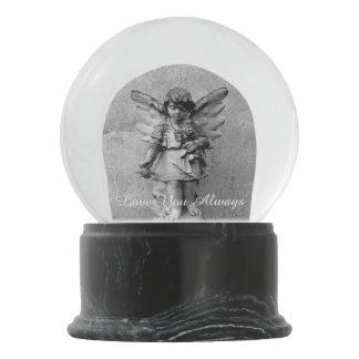 Angel Statuary Memorial Globe Snow Globe