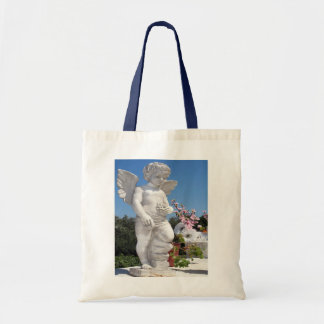 Angel Statue Budget Tote Bag