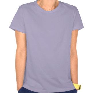 Angel Statue In Purple Tee Shirts