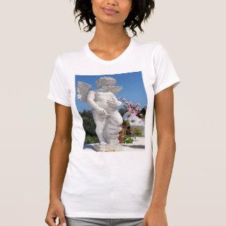 Angel Statue In White Tshirts